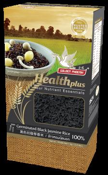 Germinated Black Cargo Rice (GABA Rice)